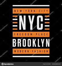 theme urban vector grunge retro illustration theme brooklyn freedom