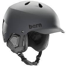 Bern Watts Eps Winter Snowboard Ski Helmet S M Matte Grey