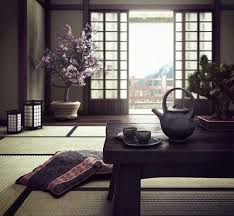 There's just something about an authentic Japanese decor, always so  neutral, gentle and light.