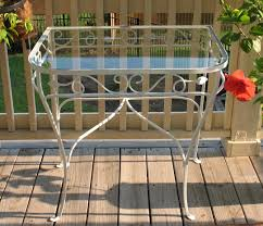 vintage wrought iron table. Frantic Vintage Wrought Iron Table A
