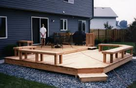 Small Picture small backyard deck designs Cedar Multi level patio deck with