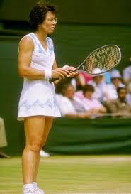 Billie gay jean king