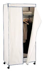 new portable storage wardrobe closet fabric cover bedroom enclosed garment rack
