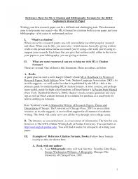 Mla Styleine Example Rn Cover Letter Sample Research Paper Of
