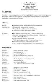 Lpn Resume Objective Resume Examples Resume Examples Unique Nursing