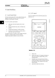 vlt aqua fc 202 user interface vlt® aqua drive operating instructions 30 mg20m902 vlt® is a registered danfoss trademark 44 34