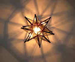 moravian star pendant light uk for tree topper lighted