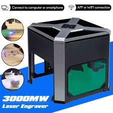 <b>WAINLUX 3000mW</b> professional CNC Laser engraving mini small ...