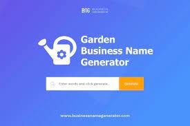 garden business name generator