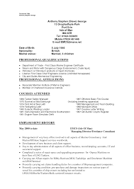 Resume Templates Marine Electrical Engineer Examples Sample