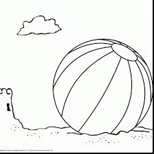 marvelous ball pages colouring with beach ball coloring page ...