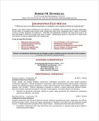 Electrician Resume Magnificent Construction Electrician Resume Templates Gallery Of Journeyman