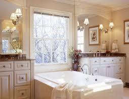 vintage bathrooms designs. Bathroom:Tiny Bathroom Design With Decorative Tiled Wall Also White Bathtub Plus Round Head Shower Vintage Bathrooms Designs