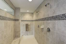 Roman Shower Designs Roman Shower With Granite Tile In Owners Bathroom The