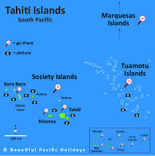 map of tahiti islands french polynesia in the south pacific islands Where Is Tahiti On The Map french polynesia map south pacific islands tahiti on map