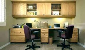 home office with two desks. Small Home Office Desk With Two Desks