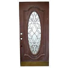 front door with oval leaded glass insert ebth front door stained glass inserts decorating android