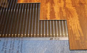 electric radiant heat underlayment a