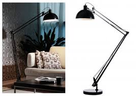 Floor Lamps Contemporary Table Lamps Red Lamp Office Silver Martian