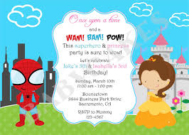 superheroes party invites printable superhero party invitations amazing invitation