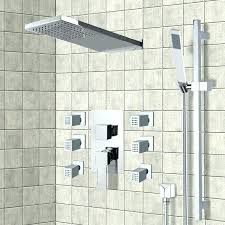 shower system shower faucet chrome shower system with rain shower head hand shower shower spray systems grohe retrofit shower system brushed nickel