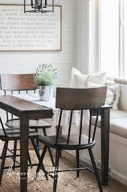 New Chairs In The Breakfast Nook by The Wood Grain Cottage