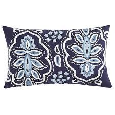embroidered lumbar pillow embroidered lumbar throw pillows