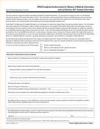 Hippa Release Forms Form Hipaa Release Form Picture Hipaa Release Form 16