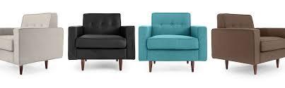 eleanor mid century modern chairs