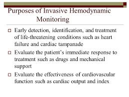 Invasive Hemodynamic Monitoring Ppt Video Online Download