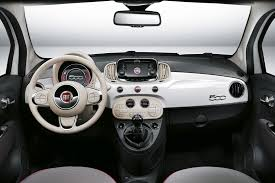 fiat 500l interior rear. interior now includes colour screen middash fiat 500l rear