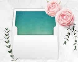 Printable A7 Envelope Liner Square Flap Envelope Liner Etsy
