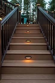 lighting for stairs. Amazing Outdoor Stair Lighting Natural Solar Lights For Deck | Desafiocincodias Step And Lighting. Ideas. Stairs S