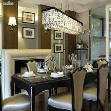 foyer crystal chandelier modern luxury crystal chandelier led light fixture lamp square shape black lighting for dining room foyer light fitment in pendant