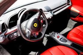 ferrari 458 red interior. ferrari exotic car interior red 458 italia
