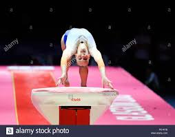 Vault gymnastics Old School Volleman Tisha ned Competes On The Vault In Womens Artistic Gymnastics Apparatus Finals During Pinterest Gymnastics Vault Stock Photos Gymnastics Vault Stock Images Alamy