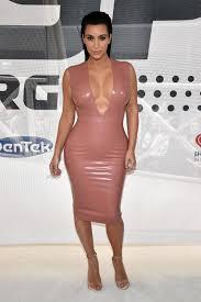 Kim Kardashian Nude Outfits POPSUGAR Fashion