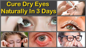 how to get rid of dry eyes naturally and cure chronic dry eyes permanent treatment