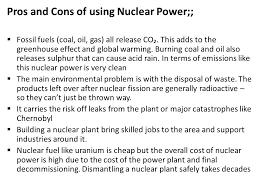 Nuclear power speech