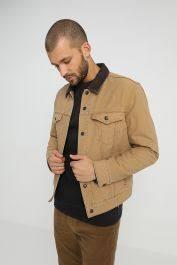 Man's <b>Levi's</b>® X Justin Timberlake Lined Trucker Jacket Beige <b>Levi's</b> ...