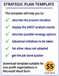 Strategic Planning Download A Strategic Plan Template