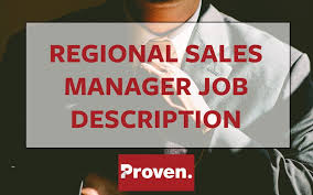 Sales Associate Job Dutie Magnificent The Perfect Regional Sales Manager Job Description Proven