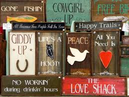 Wooden Signs For Home Decor