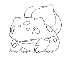 Small Picture Bulbasaur Coloring Pages qlyviewcom