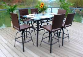 Patio Ideas Outdoor Patio Bar Table And Chairs Patio Pub Table