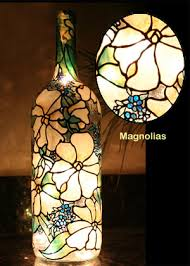 Decorative Wine Bottles With Lights Painted Wine Bottles 89
