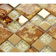 Small Picture crystal glass mosaic plated tiles art design wall tile hall