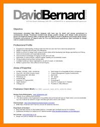 Graphic Designer Career Objective 8 Graphic Design Resume Objective Management On Call