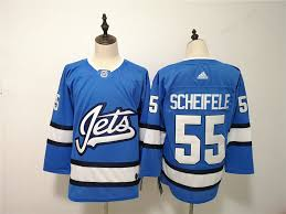 Alternate Scheifele Jets Winnipeg Mark Adidas 55 Jersey Blue