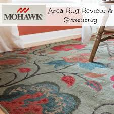 mohawk area rug review and giveaway